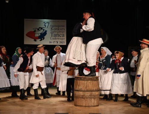 I miejsce na Ogólnopolskim Konkursie Tradycyjnego Tańca Ludowego